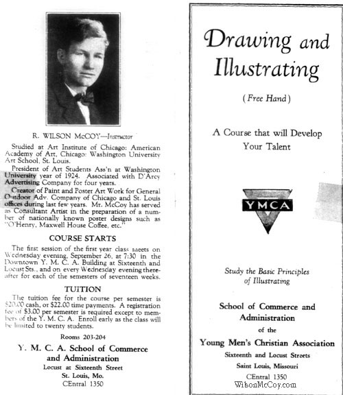 Classes by Wilson flyer